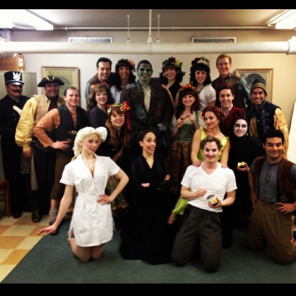 Photo Flash: Saturday Intermission Pics, March 30, Part 2- ALADDIN Gets In On the SIP Action, NEWSIES Celebrate 2 Years, and More!