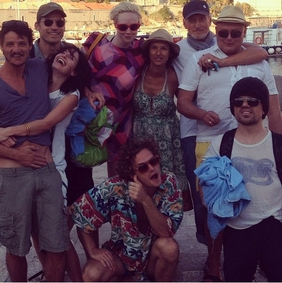 Photo Flash: GAME OF THRONES Cast Poses at the Beach