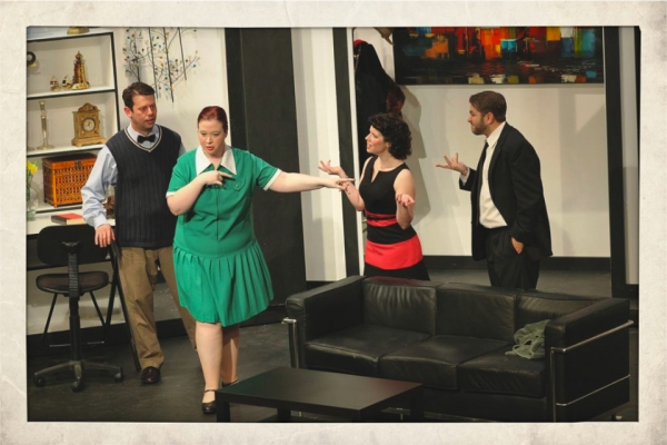 BWW Reviews: Playhouse 1960's BOEING BOEING Bounces with Energy