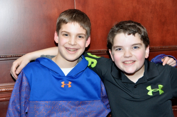 Vincent Gerardi and Michael Spencer Photo