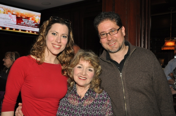 Kim Carson, Patti Mariano and Igor Goldin