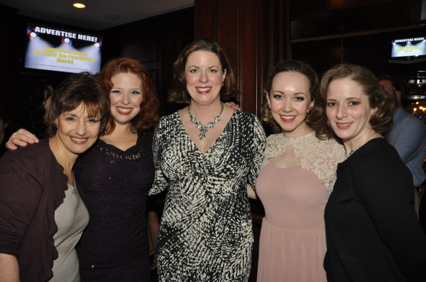 Phyllis March, Jennifer Collester Tully, Amy Jane Finnerty, Milly Rushing and Maryellen Molfetta