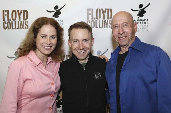 Cast members Victoria Strong, Mark Whitten and Larry Lederman