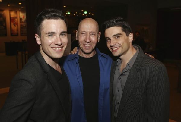 Cast members Matt Magnusson, Larry Lederman and Michael Byrne Photo
