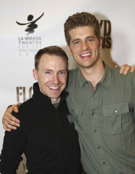 Cast members Mark Whitten and Jonah Platt