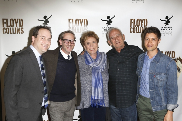 Brian Kite, Producing Artistic Director, Director Richard Israel, Marcia Seligson, Bo Photo