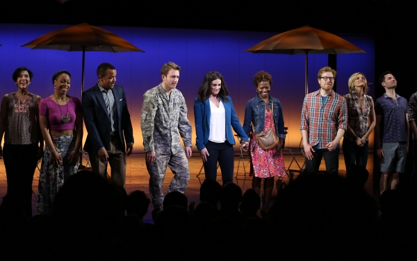 Photo Coverage: IF/THEN Opening Night Curtain Call on Broadway!