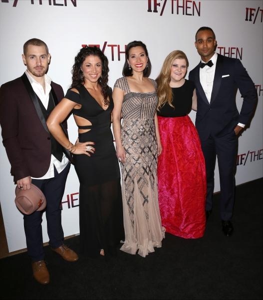 Tyler McGee, Stephanie Klemons, Ann Sanders, Ryann Redmond and Joe Aaron Reid  Photo