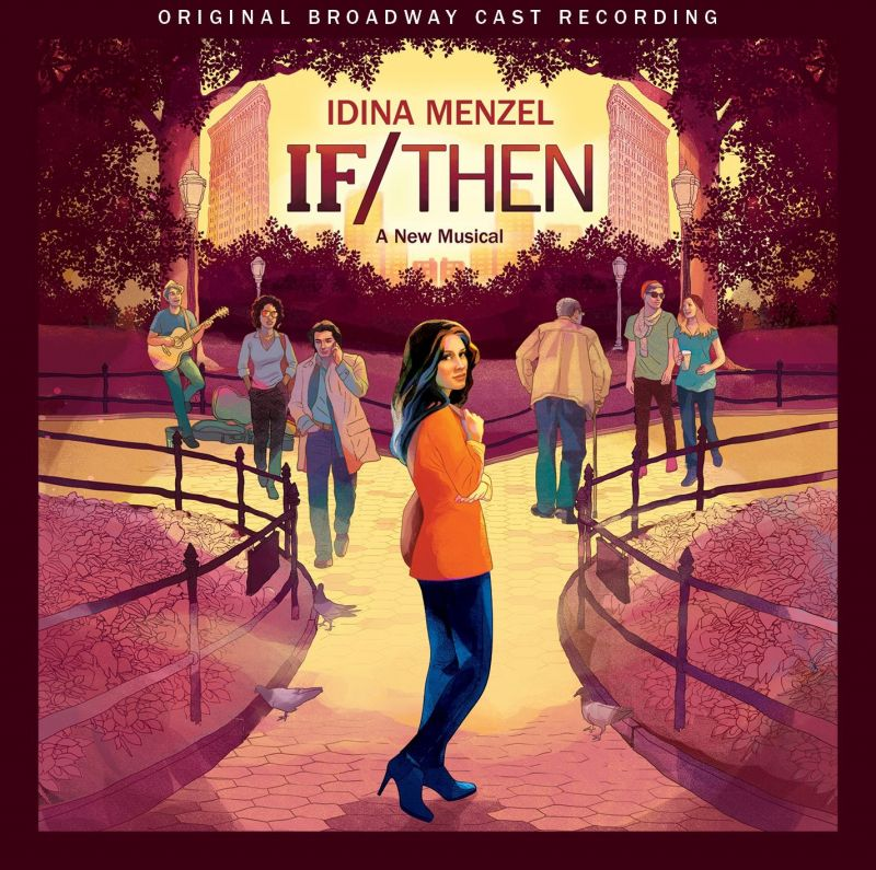 Idina Menzel & IF/THEN Original Broadway Cast Recording CD Signing Set For Today