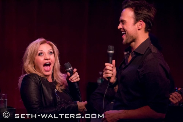 Photo Flash: Cheyenne Jackson & Special Guest Orfeh Play Birdland!