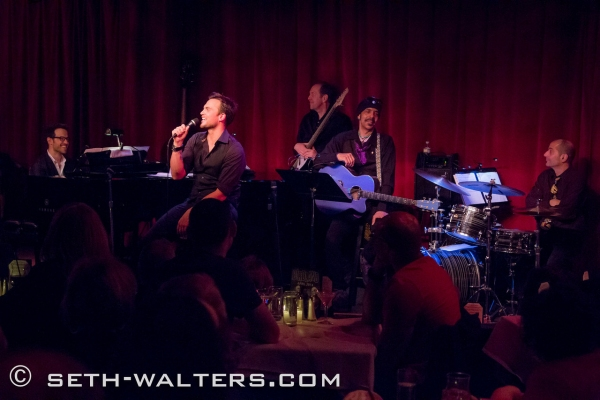 Photo Flash: Cheyenne Jackson & Special Guest Orfeh Play Birdland!