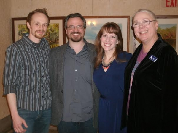 Tyler Rich, Joseph Zettelmaier, Melanie Keller, and Alison C. Vesely Photo
