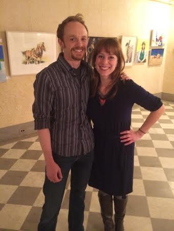 Tyler Rich and Melanie Keller