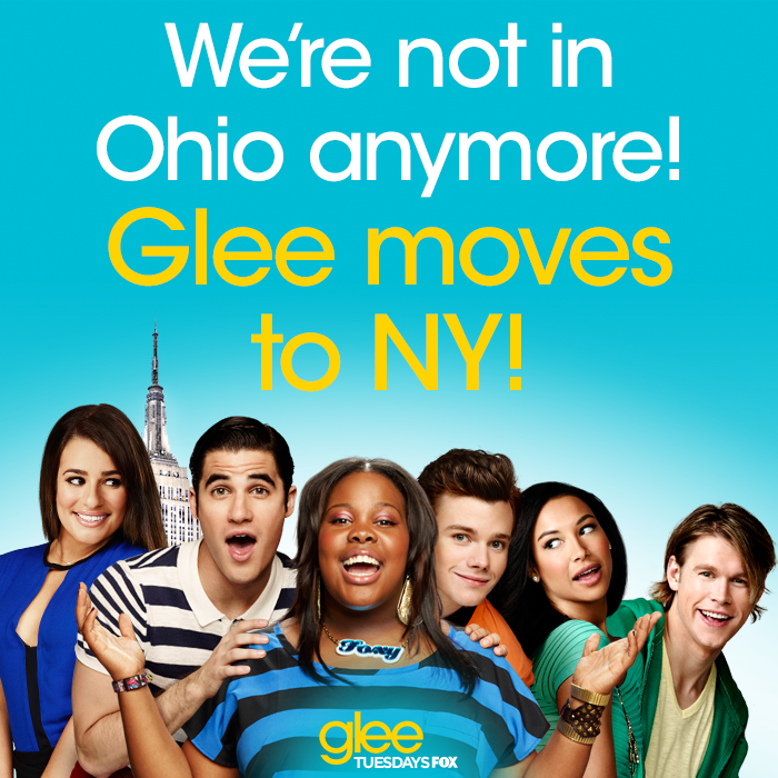 GLEE Releases New Social Media Image Confirming NYC Move & Cast