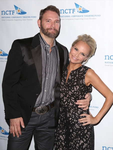 Jim Newman and Kristin Chenoweth