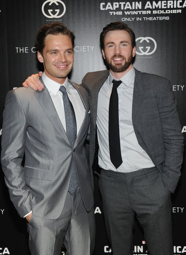 Sebastian Stan, Chris Evans