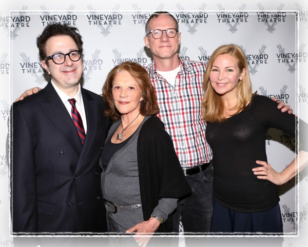 FREEZE FRAME: Linda Lavin & Cast of TOO MUCH SUN Meet the Press