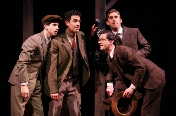 Steven Kaplan, Santino Fontana, Will Brill, Bill Army