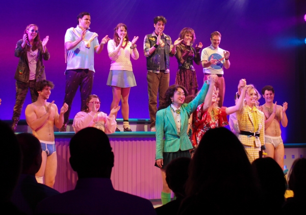 Alice Lee, Jessica Keenan Wynn, Elle McLemore and the cast