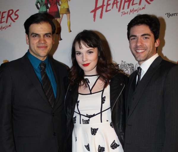 AJ Meijer, Cait Fairbanks and Matthew Schatz