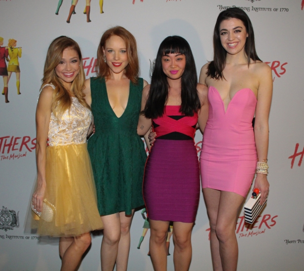 Elle McLemore, Jessica Keenan Wynn, Alice Lee and Barrett Wilbert Weed