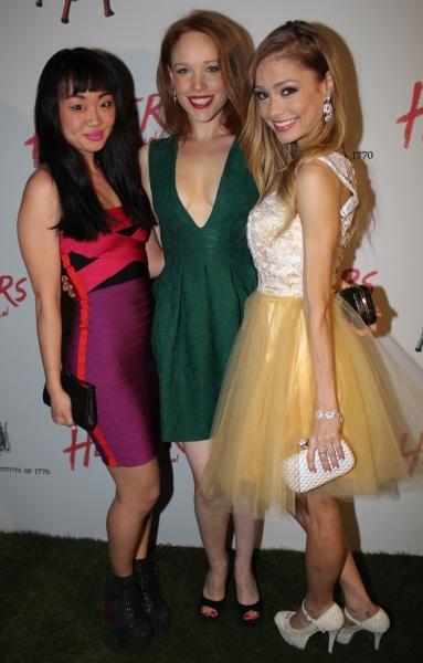 Elle McLemore, Jessica Keenan Wynn and Alice Lee