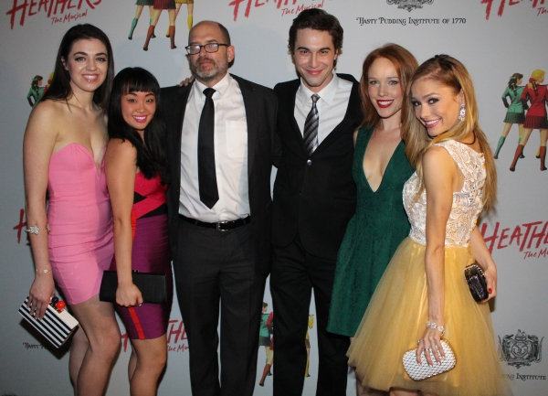 Barrett Wilbert Weed, Alice Lee, Daniel Waters, Ryan McCartan, Jessica Keenan Wynn and Elle McLemore