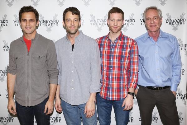 Matt Dellapina, Ken Barnett, Matt Dickson and Richard Bekins