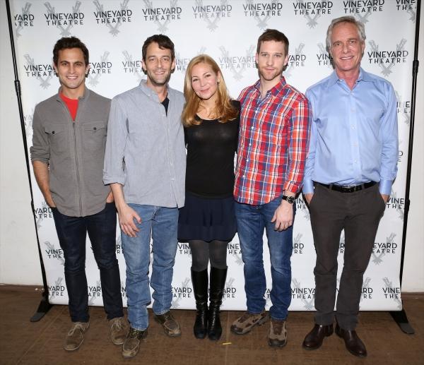 Matt Dellapina, Ken Barnett, Jennifer Westfeldt, Matt Dickson and Richard Bekins
