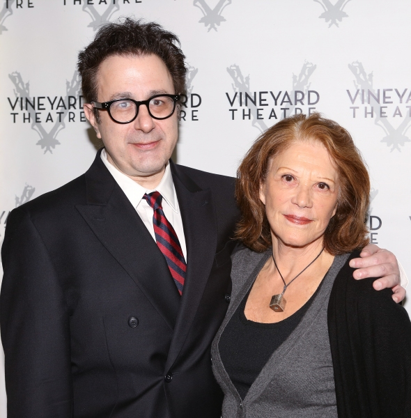 Playwright Nicky Silver and Linda Lavin