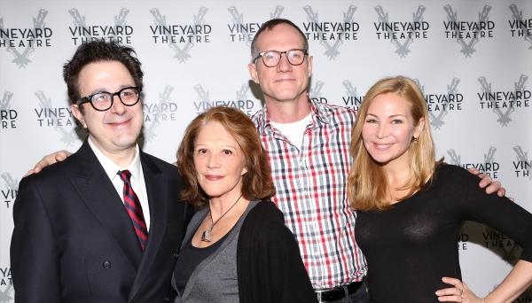 Playwright Nicky Silver, Linda Lavin, Director Mark Brokaw and Jennifer Westfeldt