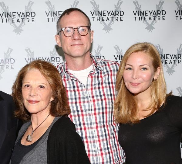 Linda Lavin, Director Mark Brokaw and Jennifer Westfeldt