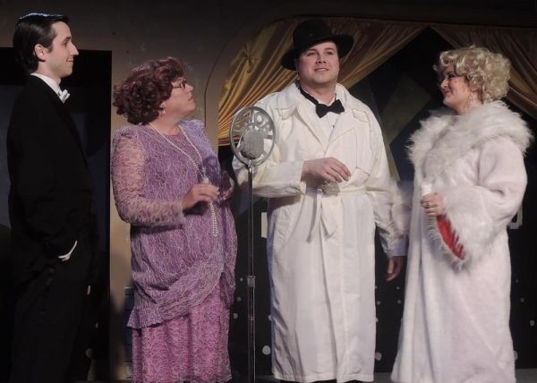 Movie Premiere - Joseph Waeyaert as Cosmo Brown, Tina M. Bruley as Dora Bailey, Jorda Photo