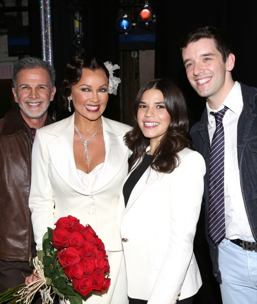 Photo Coverage: Vanessa Williams Reunites with UGLY BETTY Cast & More Backstage at AFTER MIDNIGHT!