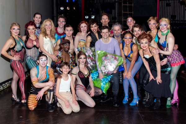 Photo Coverage: Kyle Dean Massey And Ciara Renee Take First Bows In PIPPIN