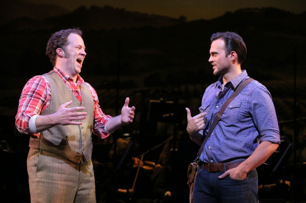 Photo Flash: First Look at Encores! THE MOST HAPPY FELLA with Laura Benanti, Shuler Hensley, Cheyenne Jackson & More!