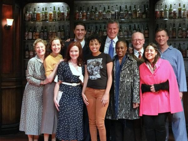 Photo Flash: Mayor Bill de Blasio Visits BILL W. AND DR. BOB