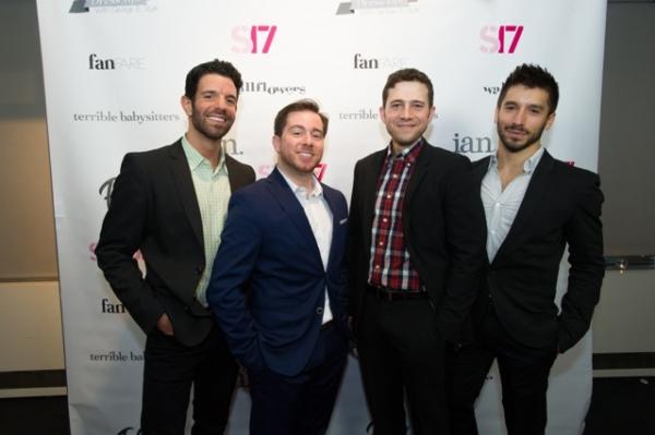 Tony Gonzalez, Jon-Erik Goldberg, Jacob Pinion, Ian Paget Photo