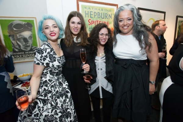 Kenley Collins, Stage17 guests and Ondine Landa Abramson