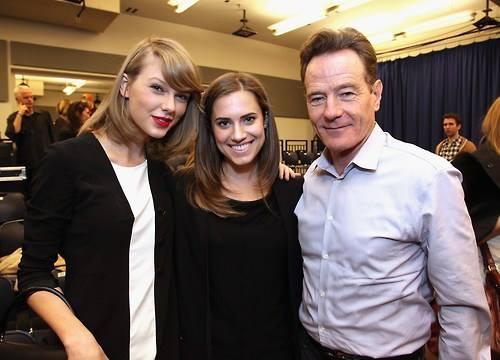 Taylor Swift & Bryan Cranston Attend FINDING NEVERLAND Workshop