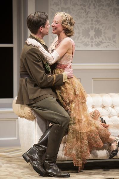 Lee Aaron Rosen as Robin Conway and Sarah Manton as Joan Helford