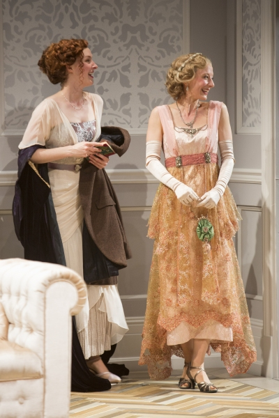 Amanda Quaid as Kay Conway and Sarah Manton as Joan Helford