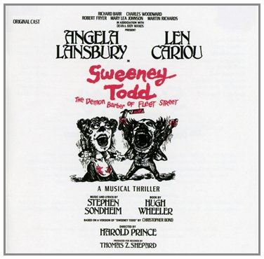 SWEENEY TODD Cast Album Added To Library Of Congress Registry & Sondheim Comments