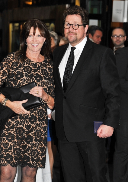 Cathy McGowan and Michael Ball Photo