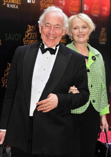 Simon Callow and Miranda Richardson