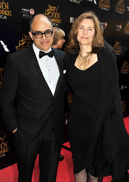 David Yazbek and Betsy Doberneck