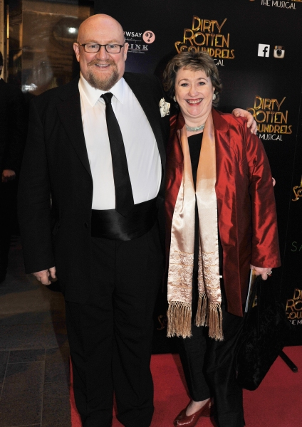Producers Howard Panter and Rosemary Squire