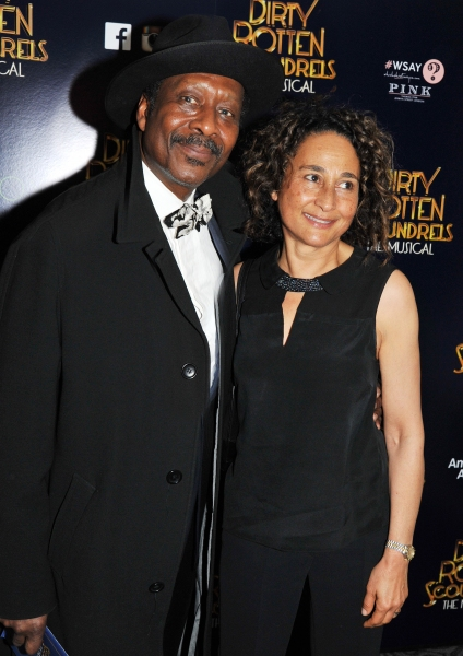 Clarke Peters and Penny Peters