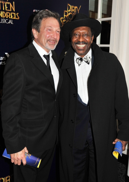 Michael Brandon and Clarke Peters