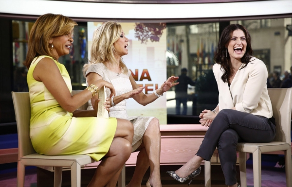 Hoda Kotb, Kathie Lee Gifford and Idina Menzel
